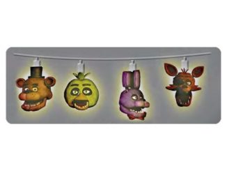 Five Nights at Freddys Heads String Lights