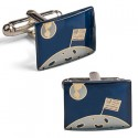 Flag On The Moon Cufflink