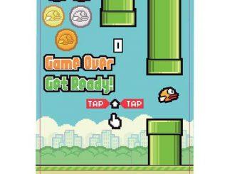 Flappy Bird Build-a-Scene Magnet Set
