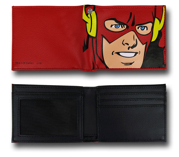 Flash Big Face Wallet with Chain