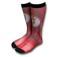 Flash Costume Crew Socks