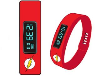 Flash Fitness Tracker LED Watch