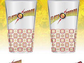 Flash Gordon 16 oz. Glass Set of 2