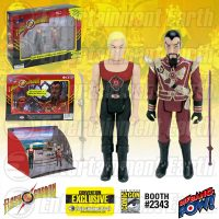Flash Gordon and Ming Hawk City Scene Action Figure Set