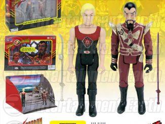Flash Gordon and Ming Hawk City Scene Action Figure Set