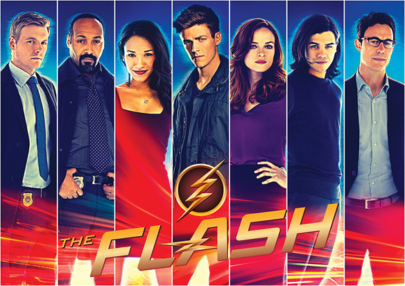 Flash Justice Accelerated MightyPrint Wall Art Print