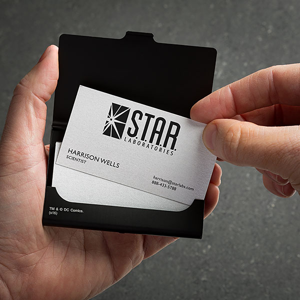 Flash Star Labs Business Card Case