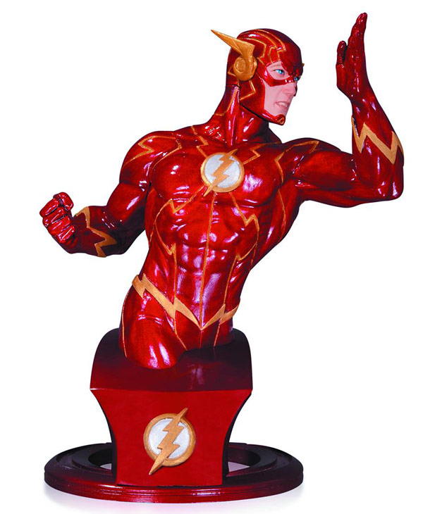 Flash Super Heroes Bust