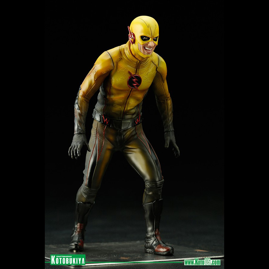 flash tv series reverse flash artfx  statue