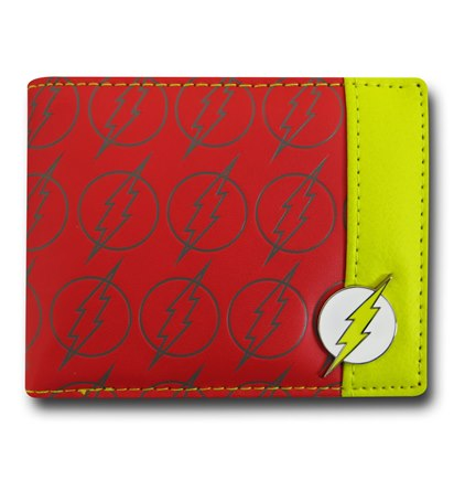 Flash Wallet w Mini Badge
