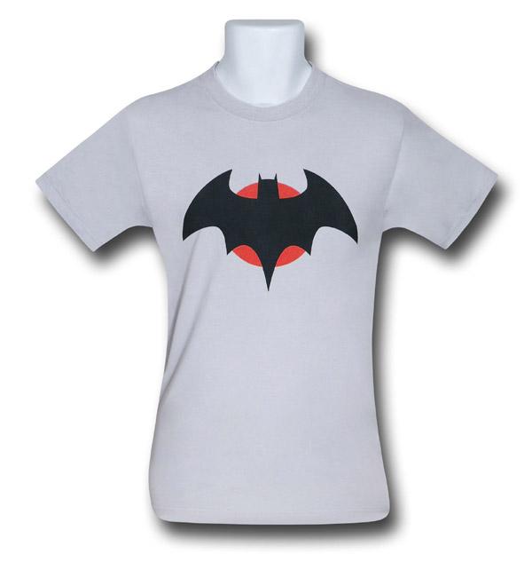 Flashpoint Batman Thomas Wayne Symbol T Shirt Geekalerts