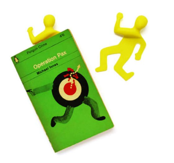 Flattened Man Bookmark