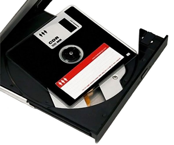 Floppy Disk CDROM Disc
