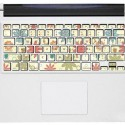 Flowers Keyboard Decal
