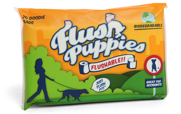 Flushable Doodie Bags