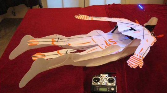 Fly Your Own RC Superhero