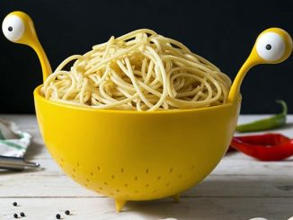 Flying Spaghetti Monster Colander