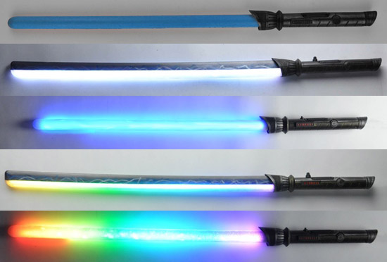 Foam Lightsabers 1