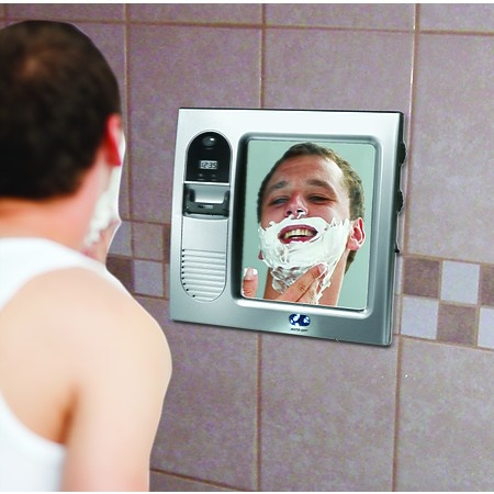 Fog-Free Shower Mirror