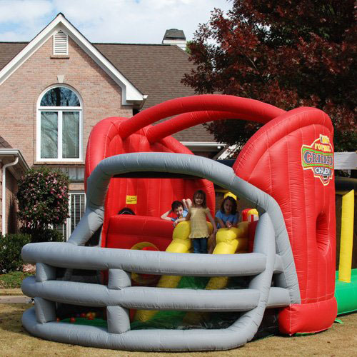 Football Challenge Commercial Grade Bounce House