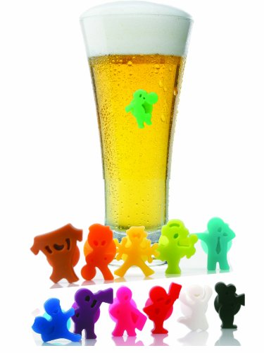 Football Friends Drink and Wine Glass Markers