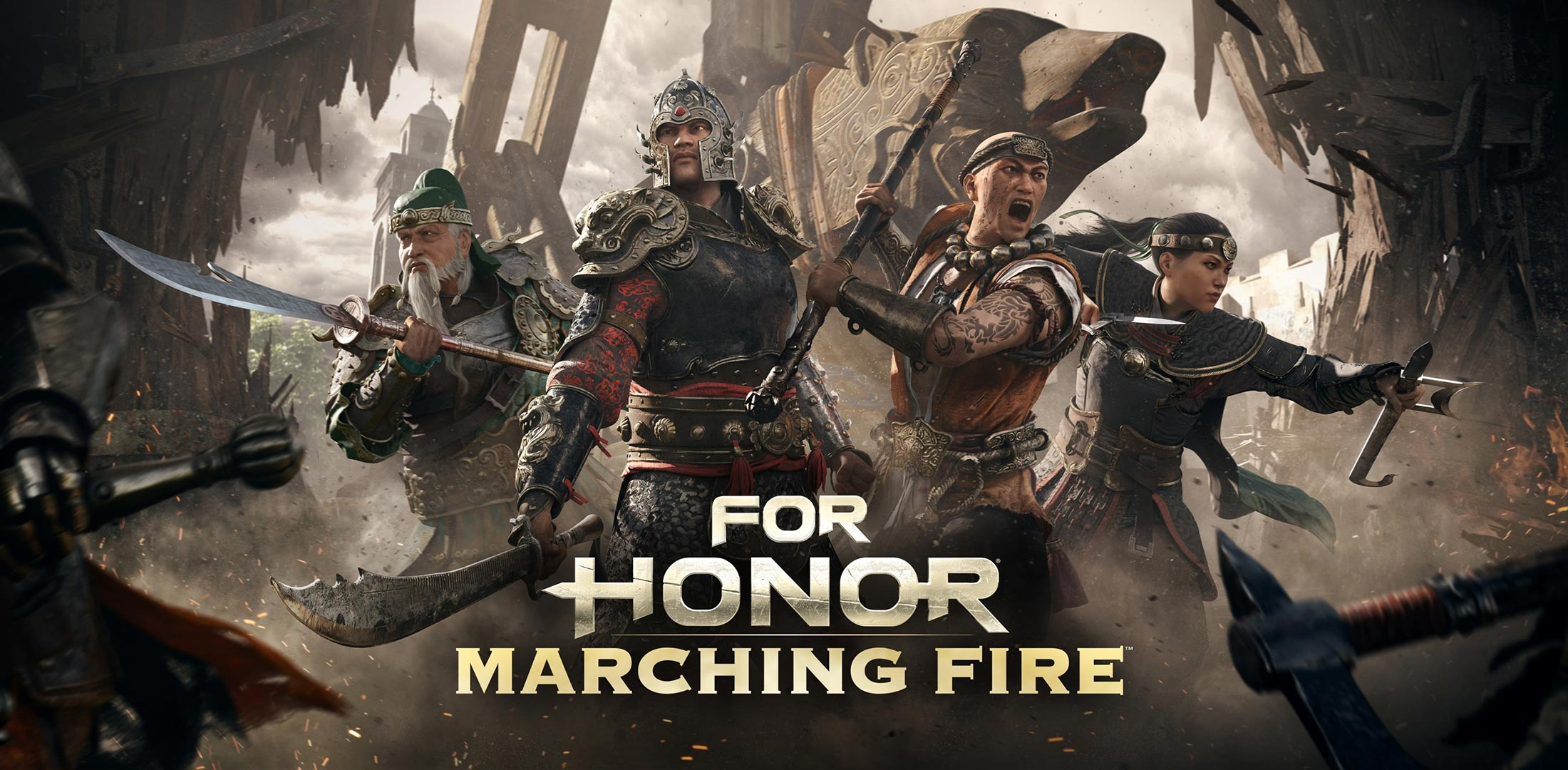 For Honor Marching Fire Released Today New Trailer
