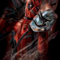 Force Awakens Deadpool Art