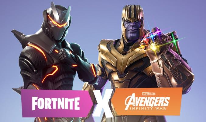 Fortnite Avengers Infinity Gauntlet Mashup