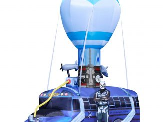 Fortnite Battle Bus Inflatable