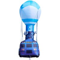 Fortnite Battle Bus Inflatable Back