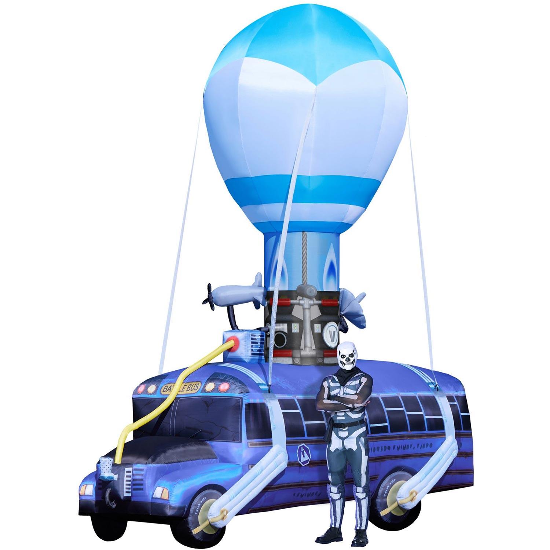Gigantic Fortnite Battle Bus Inflatable