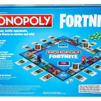 Fortnite Monopoly Box Back