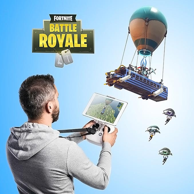 Fortnite RC Battle Bus