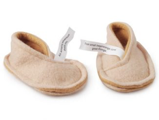 Fortune Cookie Baby Slippers