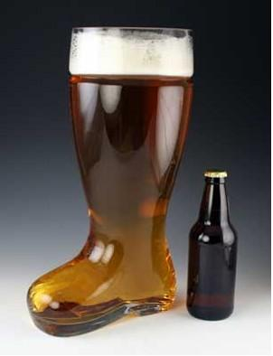 Four Liter Beer Boot