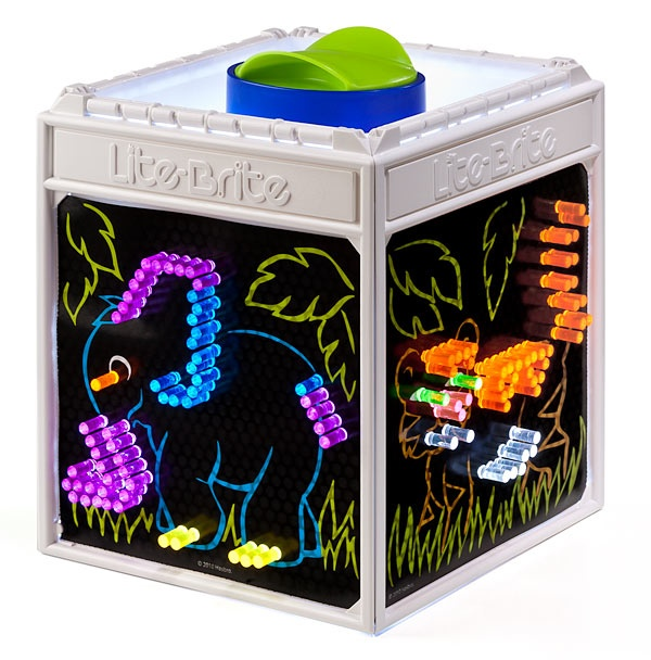Four Shared Cube - Lite Brite