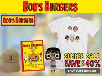 Fox Shop Bob's Burgers Summer Sale
