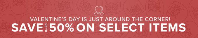 FoxShop Valentines Day Sale