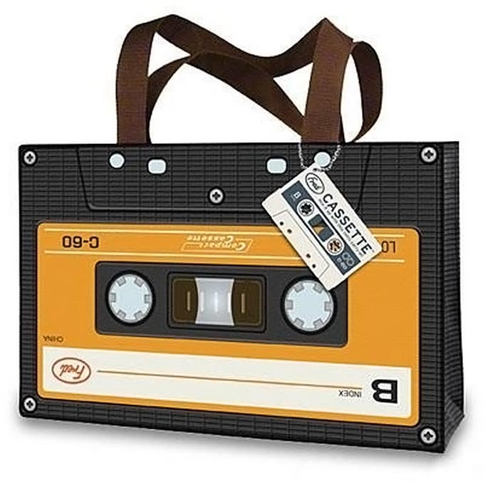 Fred Cassette Tote Bag
