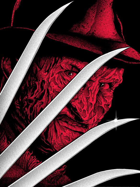Freddy Krueger Premium Art Print