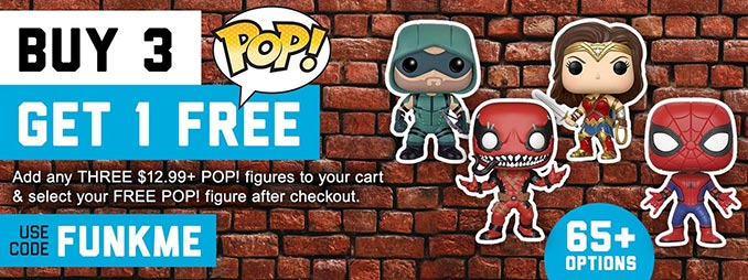 Free Funko POP Figure Offer SuperHeroStuff