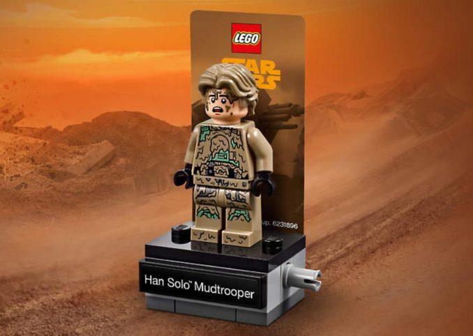Free LEGO Han Solo Mudtrooper Display