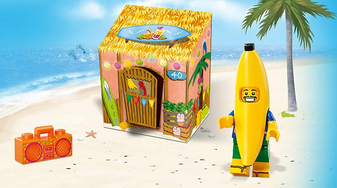 Free LEGO Party Banana Minifigure