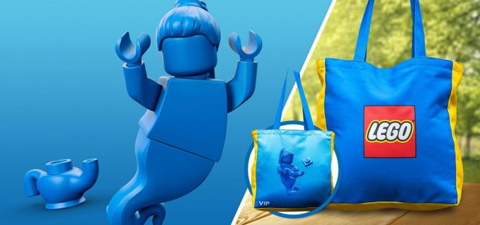 Free LEGO VIP Reversible Canvas Bag Offer