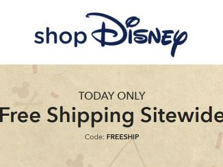 Free Shipping Shop Disney