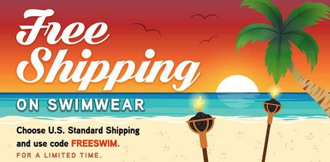 Free Shipping on Swimwear at ThinkGeek