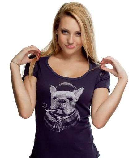 French-Bull-Dog-T-shirt
