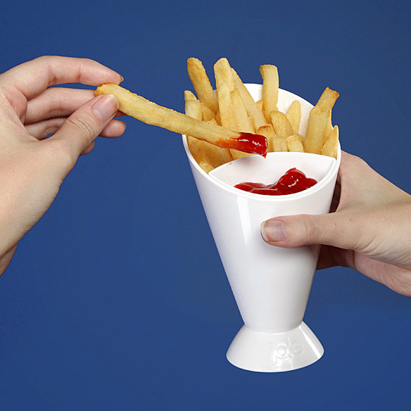 French Fry Dipping Cone Dish