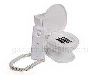 Fresh Toilet Seat Phone with Cover