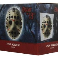 Friday The 13th Jason Mask Ceramic Pen Holder